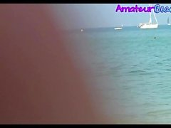 Nudist Amateur Voyeur Beach Close-Up Video