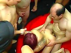 amateur anal gangbang