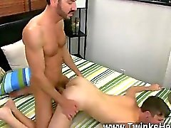 gay gay couple oral sex anal sex bareback