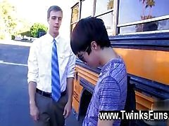 Amazing gay scene Caught smoking by the