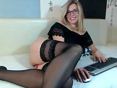 amateur big boobs blondine solo strümpfe