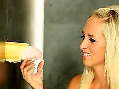 blonde bukkake creampie european fetish