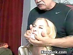 kindje bdsm blond slavernij gebonden
