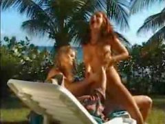 Anal threesome with redhead Suzanna Weinold and a blonde