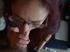 Distracting Gamer Girl with Cock
