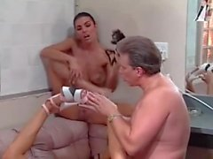 femdom foot fetish threesomes
