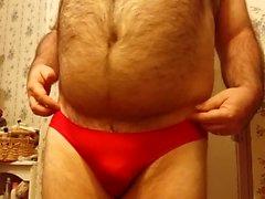 z Me in My Red Seamless Wave Edge Victorias Secret Panties