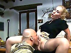 blonde italian lick milf
