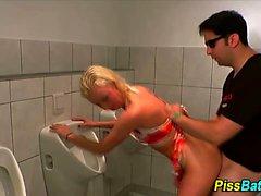 blondine blowjob gesichts fetisch