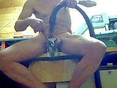 Samrebut macht seinen Schwanz zur Sau