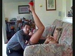 stockings nylons blow