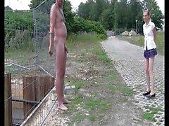 amatööri nännit julkinen alastomuus