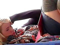 amateur nylon upskirts voyeur