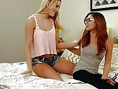 Ariana Marie and Kenna James lesbian sex