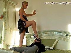 ex girlfriend fetish babe blonde heels