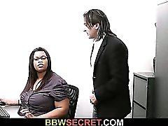 bbw big boobs schwarz und ebony brünett