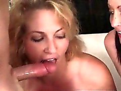 These Stunning Hot Cougars Have Wild Orgy With Guy