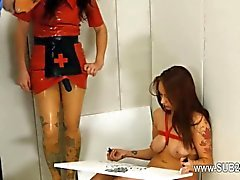 anal bdsm brunette hd lesbian