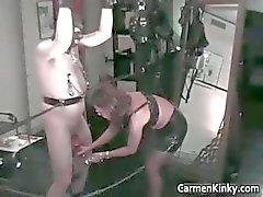 amateur bdsm brunette dominatrix femdom