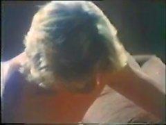 retro-vintage 1970er jahre papa ältere pre kondom bedrängen blonde gesichtsbehandlung haar oral