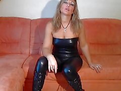 bdsm blondjes duits latex