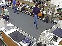 Gay Threesome for the Lucky guy who try to rob the pawnshop