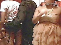 schwarz und ebony strümpfe voyeur