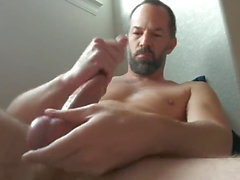 gay big cock daddy masturbation