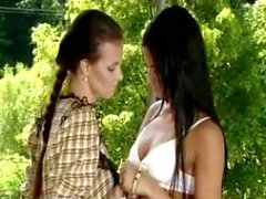 european fingering panties pussy to mouth lesbian