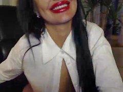 webcam dilettante calze nylon smalto