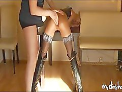 couple vaginal sex masturbation bondage blonde