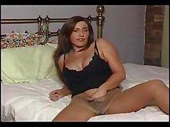 masturbation solo brunette