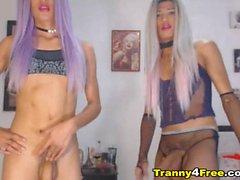 shemale blondes masturbating amateur sex