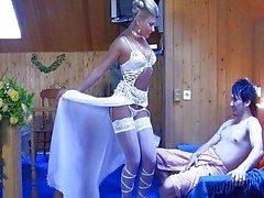 paar vaginale seks orale seks blond pijpbeurt