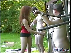 outdoor fetish foursome domination