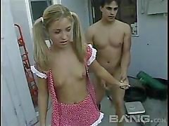 Young Lovely anal abuse