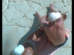 amateur beach public nudity voyeur outdoor