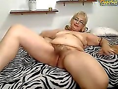 old granny-solo amateur mature