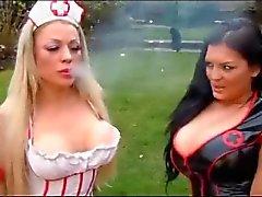 big boobs cosplay lesbians
