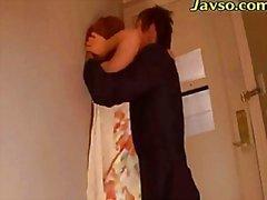asiático casal japonês