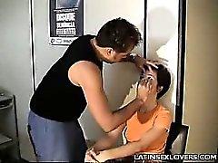 amateur brunette public