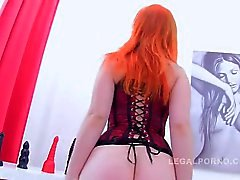 anal double penetration redheads anal-masturbating ass-fuck