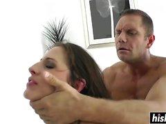 ass babe brunette doggystyle hardcore