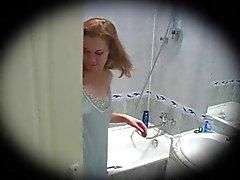 ruivas chuveiros adolescentes voyeur