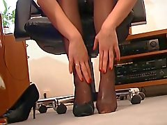 German Fuck my Nylons - Scene 1