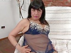 solo masturbation latina dildo