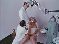 cumshots dentist doctor eating pussy threesome