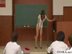 bizzarro aula nudista