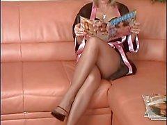 femdom foot fetish strumpor