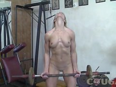blondes matures pov female muscle network groped